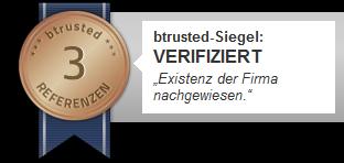 btrusted-Siegel für projektbeschickung Friedrich Behnk