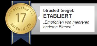 btrusted-Siegel, Website-Marketing Report gratis, Atelier MARRI, Atelier MARRI Webdesign, Webdesigner in Plauen, Grafikdesigner in Plauen, Webdesign, Grafikdesign, Flyer, Visitenkarten, Broschüren, Plakate, Malerei, Zeichnung, Auftragsmalerei