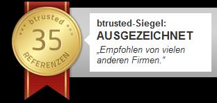 Werbung - btrusted-Siegel